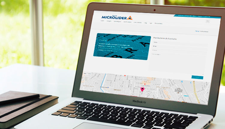 Site em WordPress Grupo Microlider Portifolio Programador Desktop 3