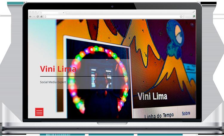 Site em WordPress de portifolio de publicidade Programador 5